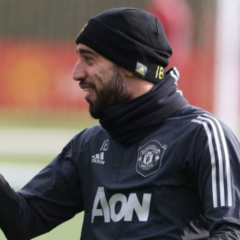 Bruno Fernandes has message for Paul Pogba after United pair train together