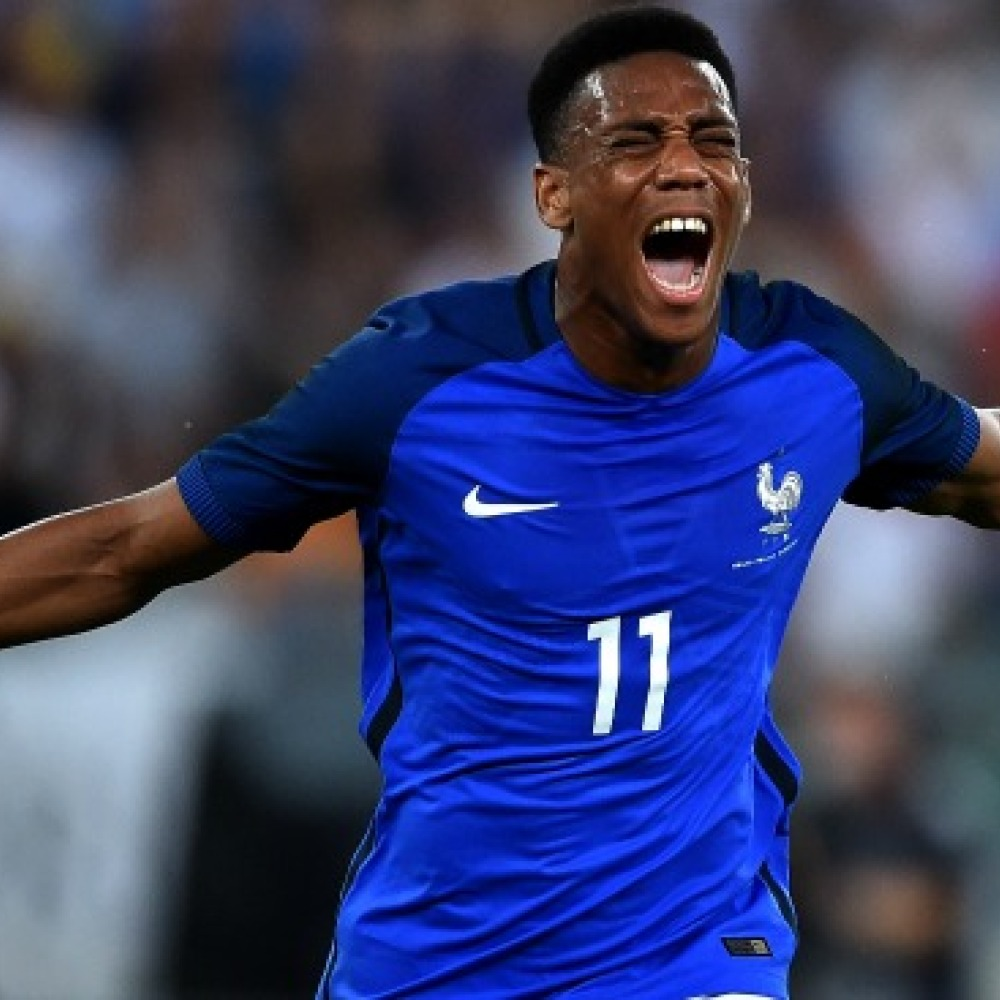 Martial named in France squad – but Man City star misses out again