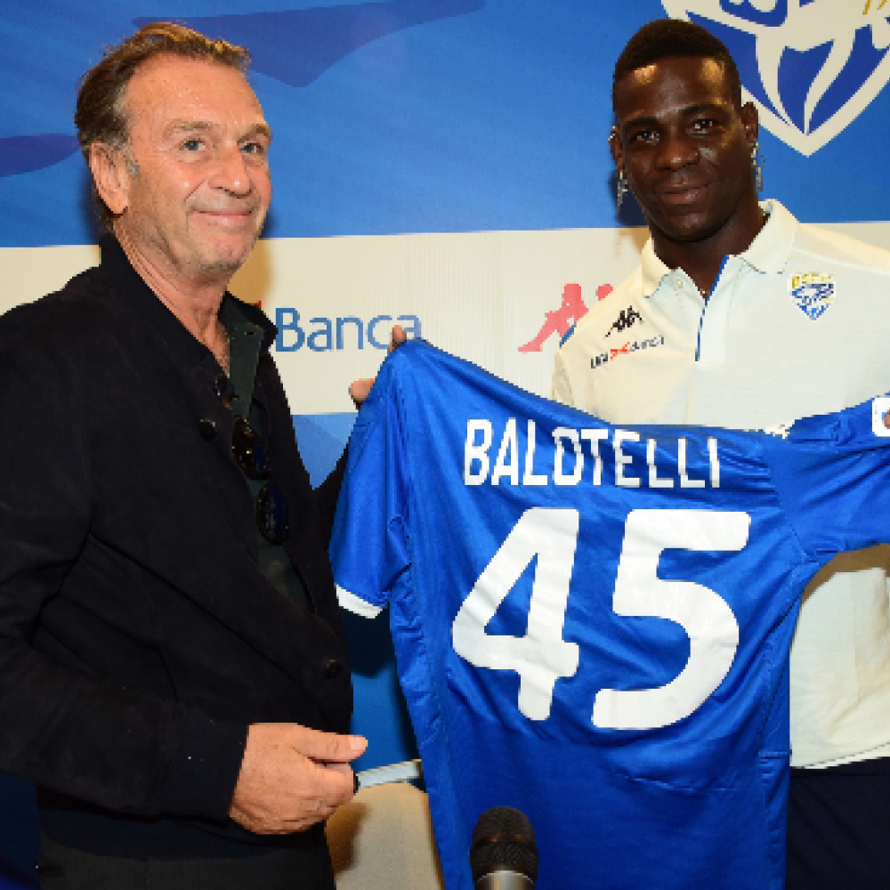 Mario Balotelli targeting Italy Euro 2020 call-up after joining Serie A side