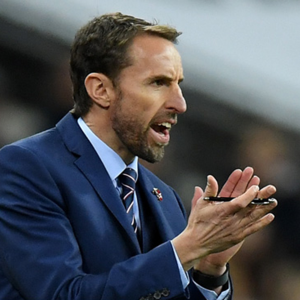 Southgate singles out pair for praise after England draw
