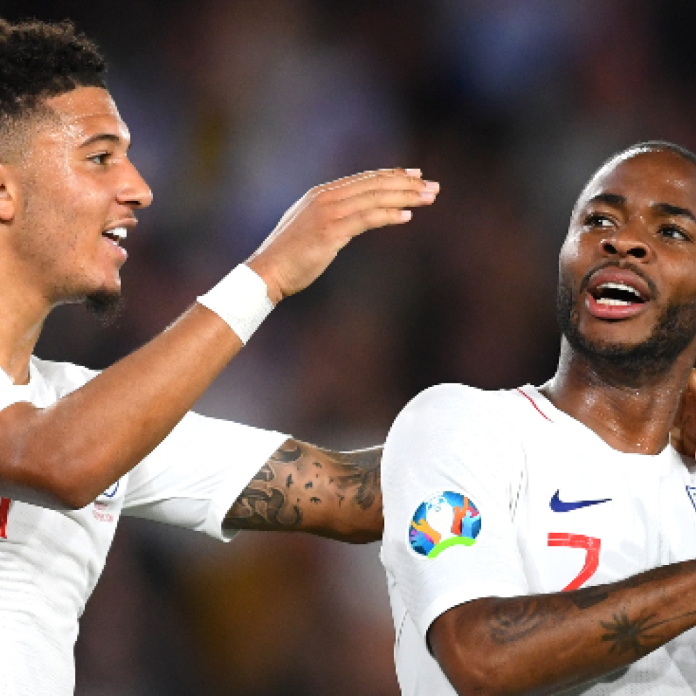 Sterling comes good on Sancho promise; critical of England flaws