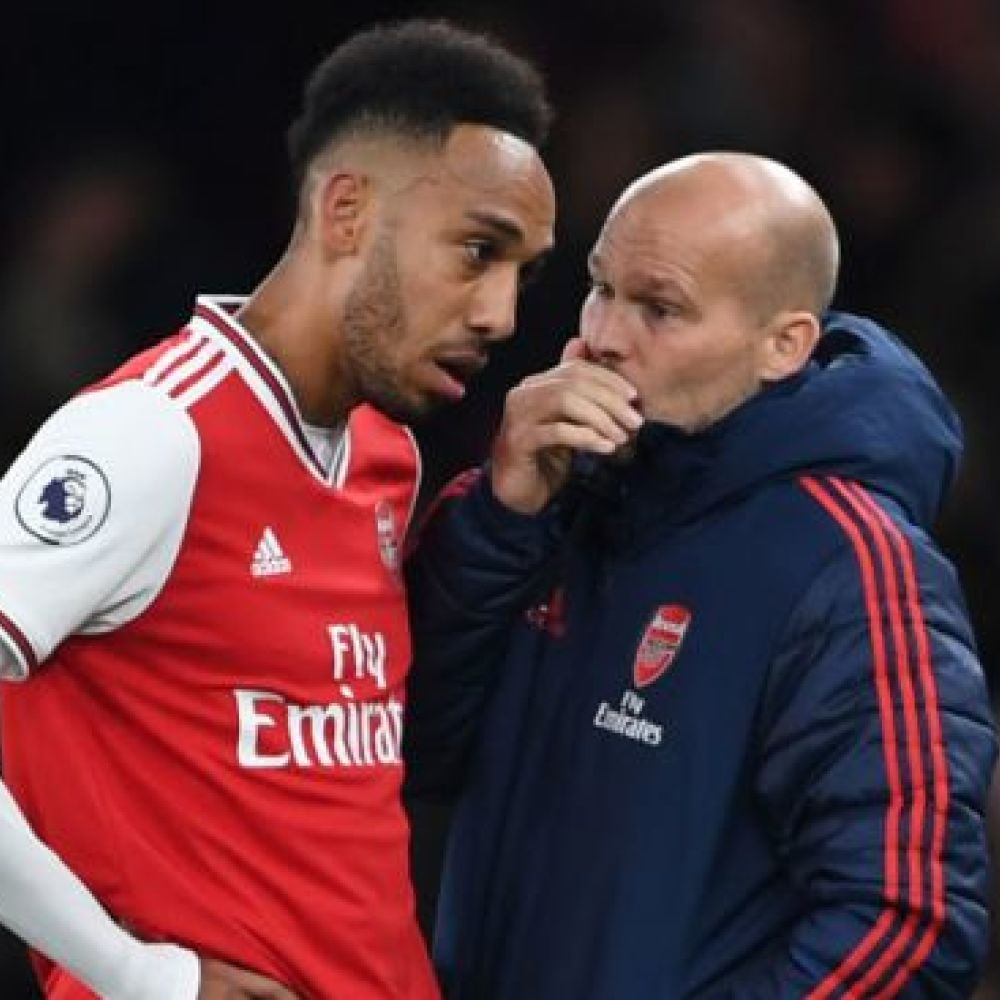 Aubameyang explains why 'special' Ljungberg is right interim for Arsenal