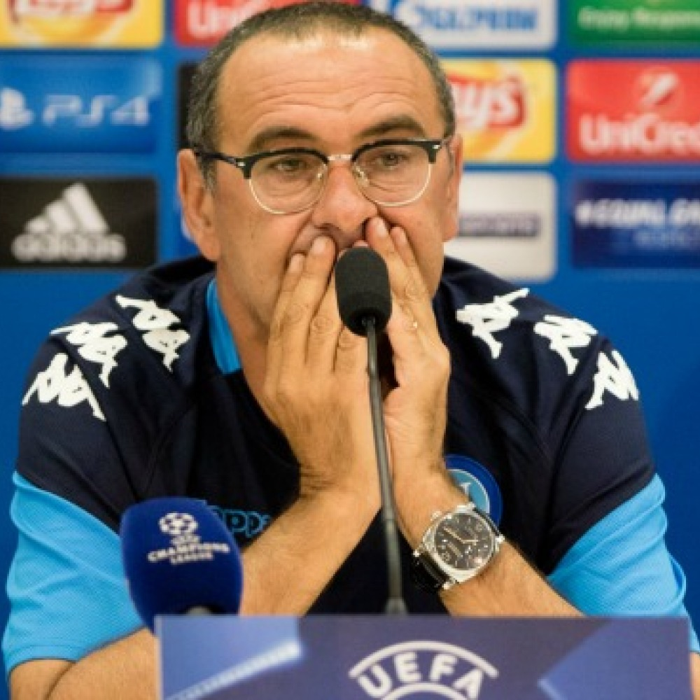 Napoli boss Sarri hands Chelsea huge boost with latest comments